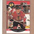 1990 Pro Set Hockey Steve Larmer Blackhawks #53
