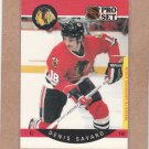1990 Pro Set Hockey Dennis Savard Blackhawks #59