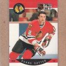 1990 Pro Set Hockey Duane Sutter Blackhawks #61