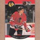 1990 Pro Set Hockey Trent Yawney Blackhawks #64