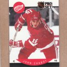 1990 Pro Set Hockey John Chabot Red Wings #68