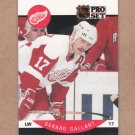 1990 Pro Set Hockey Gerard Gallant Red Wings #71