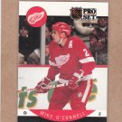 1990 Pro Set Hockey Mike O'Connell Red Wings #75