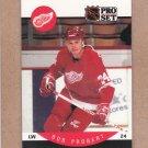 1990 Pro Set Hockey Bob Probert Red Wings #76