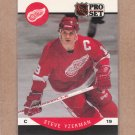 1990 Pro Set Hockey Steve Yzerman Red Wings #79