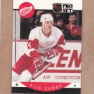 1990 Pro Set Hockey Rick Zombo Red Wings #80