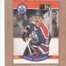1990 Pro Set Hockey Glenn Anderson Oilers #81
