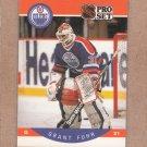 1990 Pro Set Hockey Grant Fuhr Oilers #82