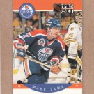 1990 Pro Set Hockey Mark Lamb Oilers #88