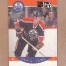 1990 Pro Set Hockey Kevin Lowe Oilers #89