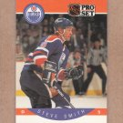 1990 Pro Set Hockey Steve Smith Oilers #96