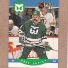 1990 Pro Set Hockey Dave Babych Whalers #99