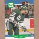 1990 Pro Set Hockey Grant Jennings Whalers #106