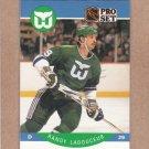 1990 Pro Set Hockey Randy Ladouceur Whalers #108