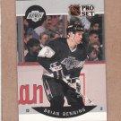 1990 Pro Set Hockey Brian Benning Kings #114