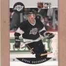 1990 Pro Set Hockey Steve Duchesne Kings #115