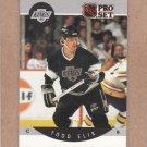 1990 Pro Set Hockey Todd Elik Kings #116