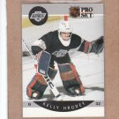 1990 Pro Set Hockey Kelly Hrudey Kings #117