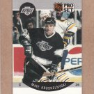 1990 Pro Set Hockey Mike Krushelnyski Kings #121