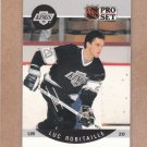 1990 Pro Set Hockey Luc Robitaille Kings #126