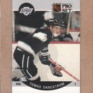 1990 Pro Set Hockey Tomas Sandstrom Kings #127