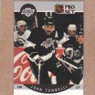 1990 Pro Set Hockey John Tonnelli Kings #129