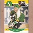 1990 Pro Set Hockey Neal Broten North Stars #132
