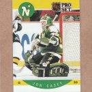 1990 Pro Set Hockey Jon Casey North Stars #133