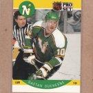 1990 Pro Set Hockey Gaetan Duchesne North Stars #137
