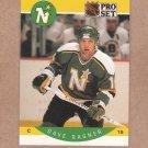 1990 Pro Set Hockey Dave Gagner North Stars #138