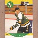 1990 Pro Set Hockey Basil McRae North Stars #141