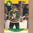 1990 Pro Set Hockey Mark Tinordi North Stars #144