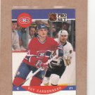 1990 Pro Set Hockey Guy Carbonneau Canadiens #146