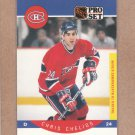 1990 Pro Set Hockey Chris Chelios Canadiens #147
