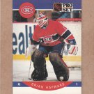 1990 Pro Set Hockey Brian Hayward Canadiens #150