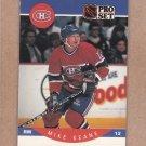 1990 Pro Set Hockey Mike Keane Canadiens #151