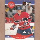 1990 Pro Set Hockey Claude Lemieux Canadiens #152