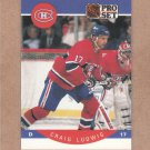 1990 Pro Set Hockey Craig Ludwig Canadiens #154