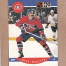 1990 Pro Set Hockey Mike McPhee Canadiens #155