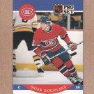 1990 Pro Set Hockey Brian Skrudland Canadiens #158