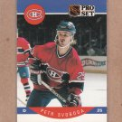 1990 Pro Set Hockey Petr Svoboda Canadiens #161