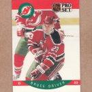 1990 Pro Set Hockey Bruce Driver Devils #166