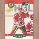 1990 Pro Set Hockey Alexei Kasatonov Devils #169