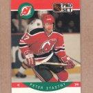 1990 Pro Set Hockey Peter Stastny Devils #175