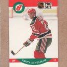 1990 Pro Set Hockey Patrik Sundstrom Devils #176