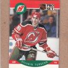 1990 Pro Set Hockey Sylvain Turgeon Devils #177