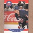 1990 Pro Set Hockey Gerald Diduck Islands #180
