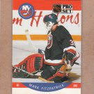 1990 Pro Set Hockey Mark Fitzpatrick Islands #181