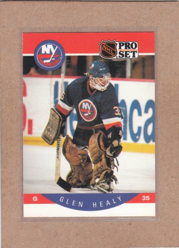 1990 Pro Set Hockey Glen Healy Islands #183