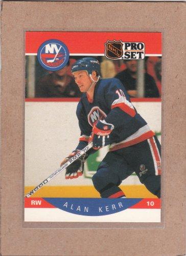 1990 Pro Set Hockey Alan Kerr Islands #183